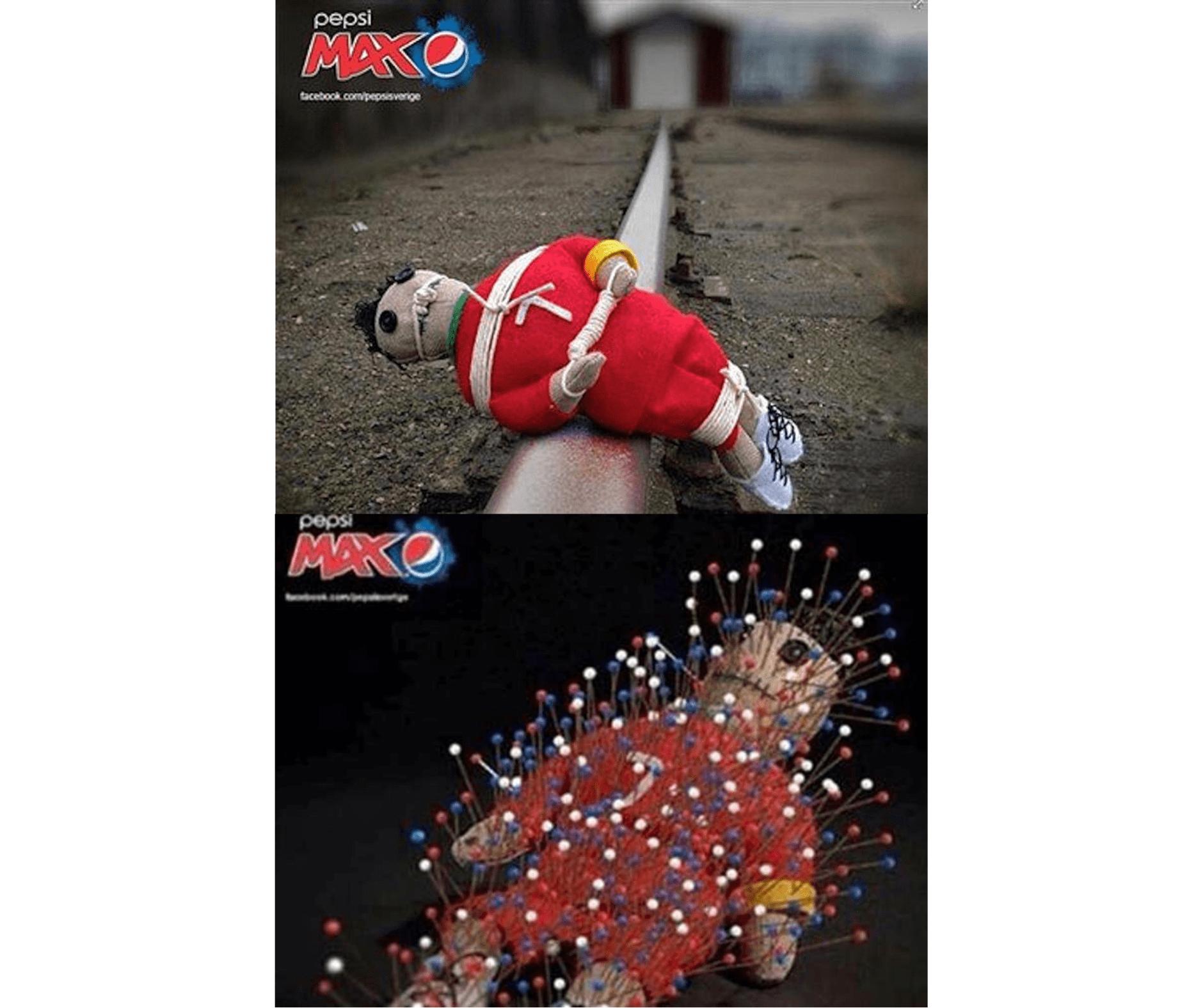 Pepsi Ronaldo Upset