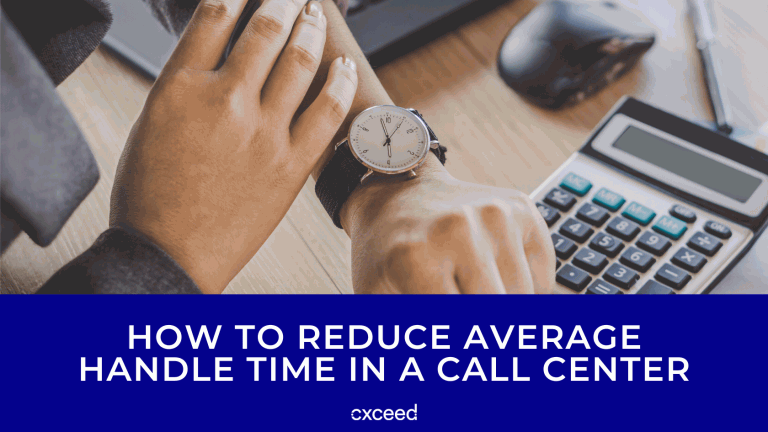 How to Reduce Average Handle Time in a Call Center