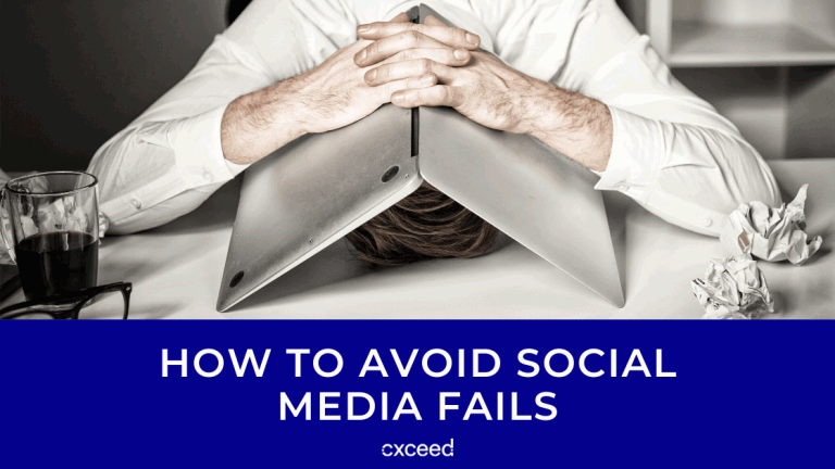 How To Avoid Social Media Fails
