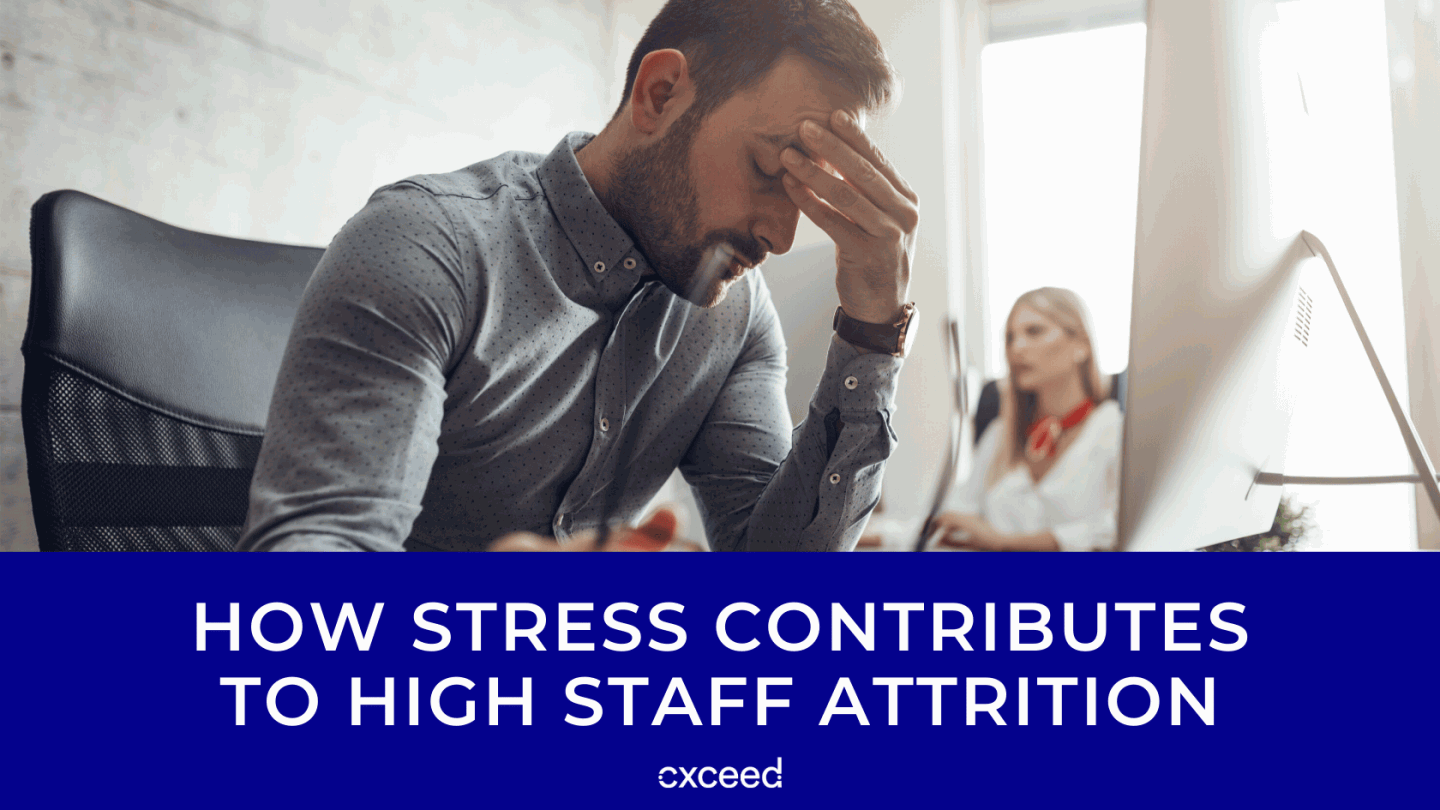 How Stress Contributes to High Staff Attrition