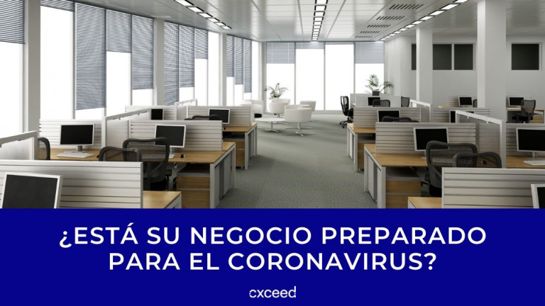 ¿Está su negocio preparado para el coronavirus?