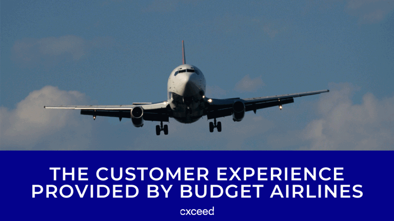 The Customer Experience Provided by Budget Airlines