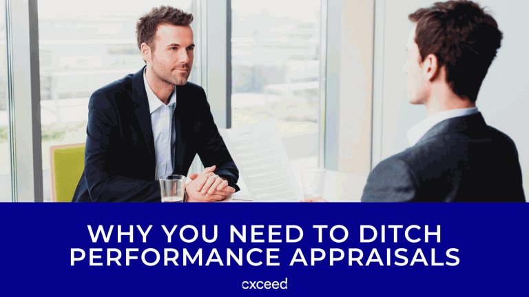 Why You NEED To Ditch Performance Appraisals