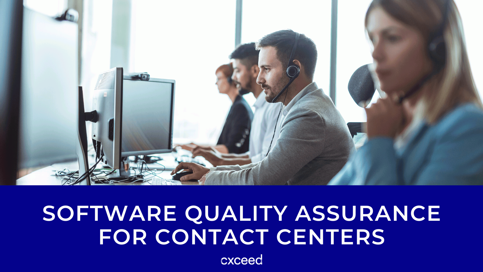 Software Quality Assurance for Contact Centers